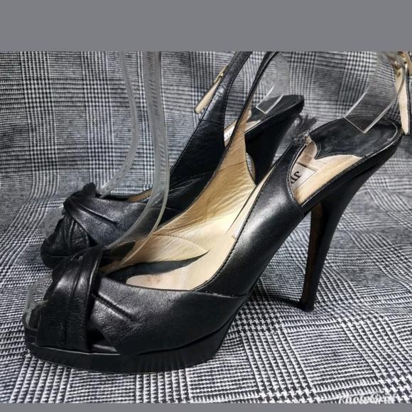 510456d211d0e Jimmy Choo Shoes - Jimmy Choo PeepToe Slingback sz 37 Damaged